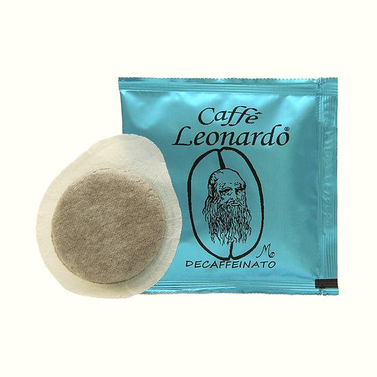 Caffe' Leonardo Decaf ESE Paper Pod