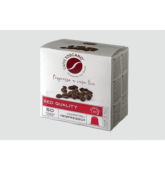Caffe' Toscano Red Nespresso Capsules