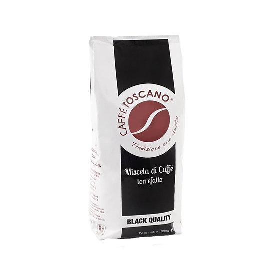 Caffe' Toscano Black Quality Coffee Beans 1kg