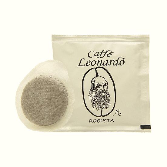 Caffe' Leonardo Robusta ESE Paper Pod