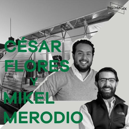 CESAR FLORES Y MIKEL MERODIO