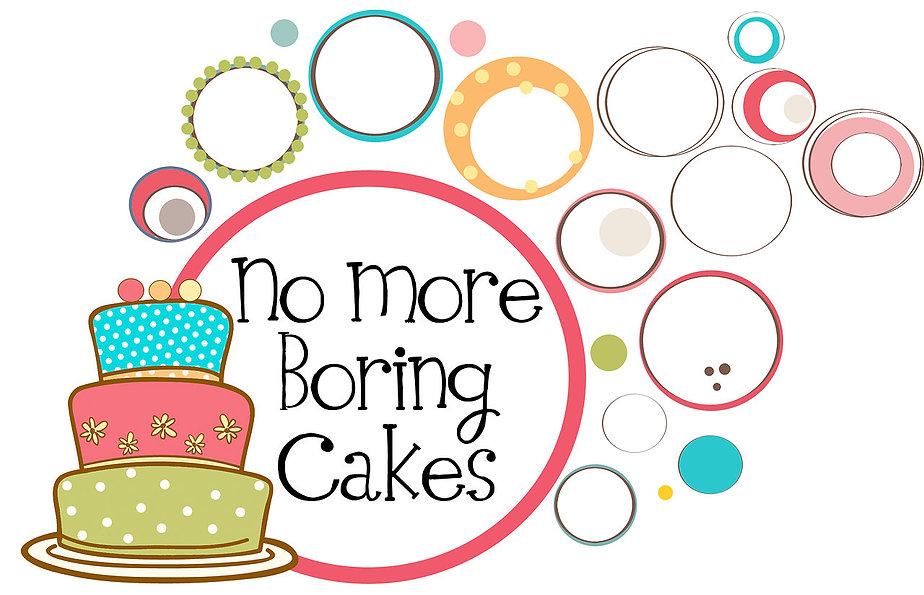 logo og No More Boring Cakes