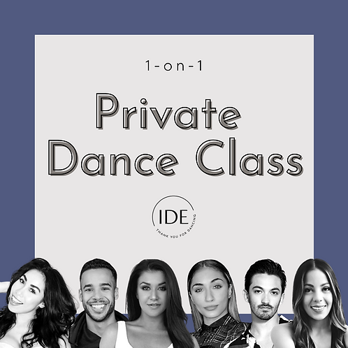 1-on-1 Private Dance Class