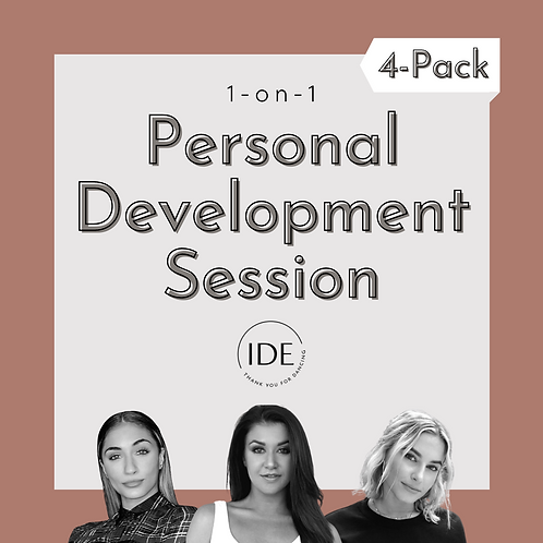4-Pack of 1-on-1 Personal Development Sessions