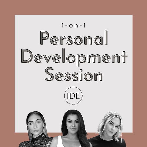 1-on-1 Personal Development Session