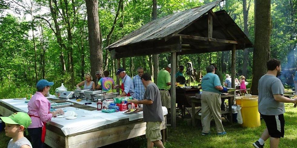 28th Annual Father's Day Breakfast on Hiawatha Island