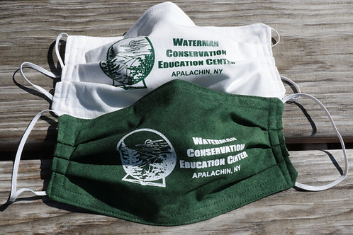 Adult or Child, Waterman logo Masks