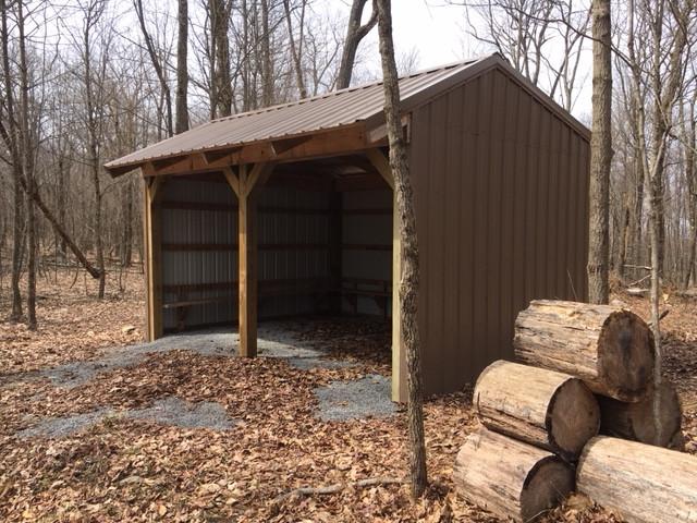 Pettus Hill shelter