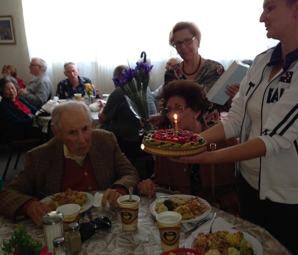 A Very Special Birthday Celebration - our client turned 100!