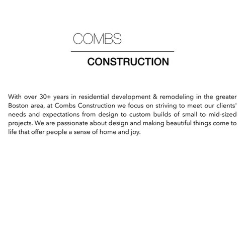 Combs Construction