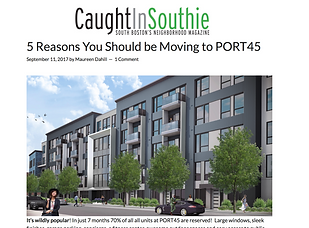 5 Reasons You Should be Moving to PORT45