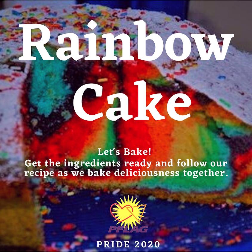 Baking Hour: Rainbow Cake