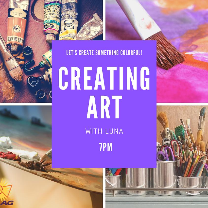 Creating Art with Luna.