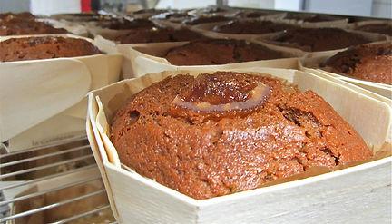 cuisson des pains d'épices pour les magasins biocoop