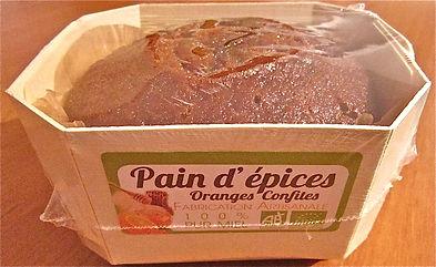 barquette de pain d'épices bio producteur