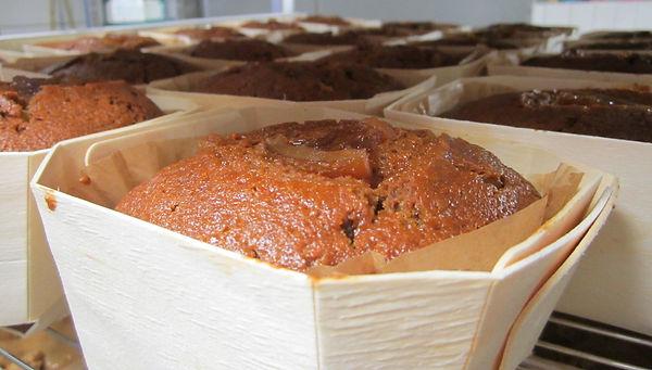 la barquette de pain d'épices à l'orange confite biologique