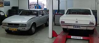 Laat uw klassieker of oldtime onderhouden door First Class Carservice Bunnik