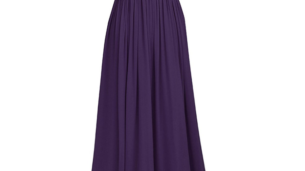 vestidos formales De fiesta cuello en V