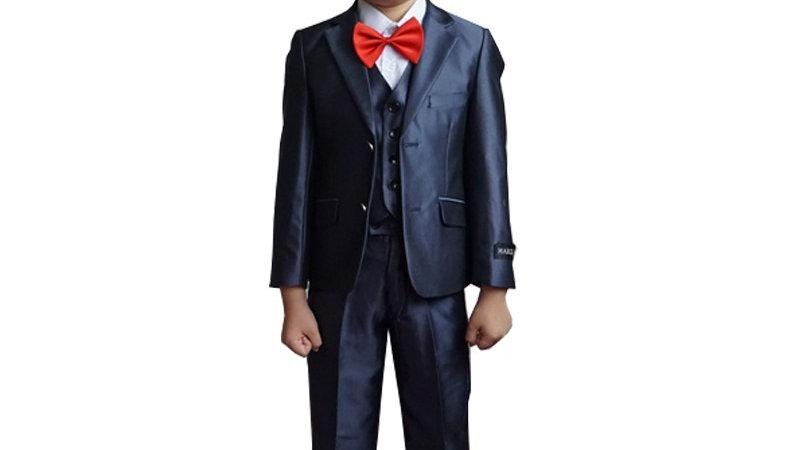 traje azul para ninos para eventos ocasionales y formales