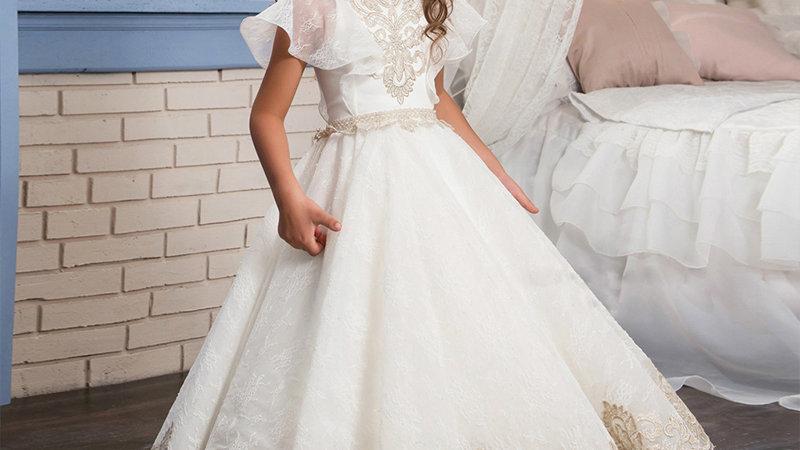 Vestido de Nina Blanco