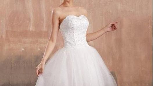 vestido corto de novias