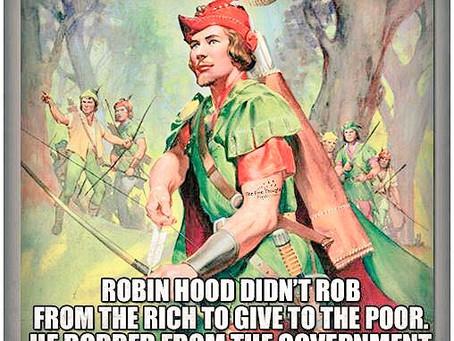 Why Robin Hood is Still My Hero!