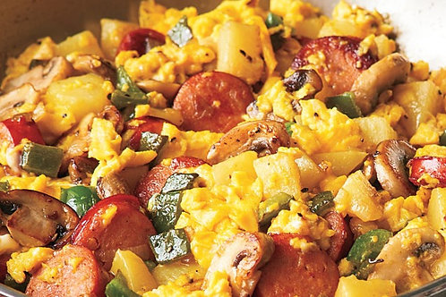 Soy-sage Breakfast Scramble