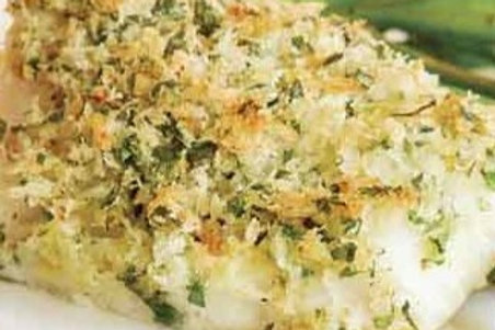 Dill-Parmesan Crusted Cod