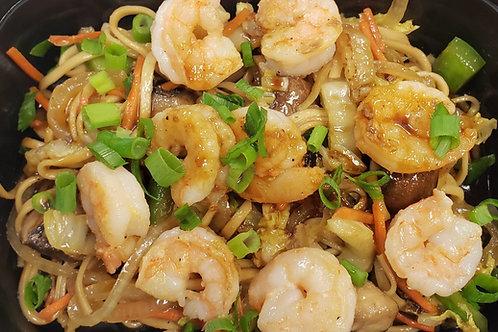 Vegetable Udon Noodles