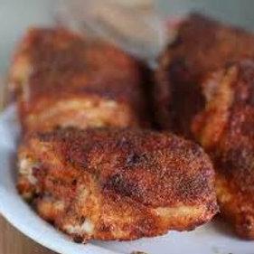 Crispy Creole Chicken Thighs