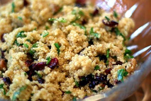 Pecan Cranberry Quinoa