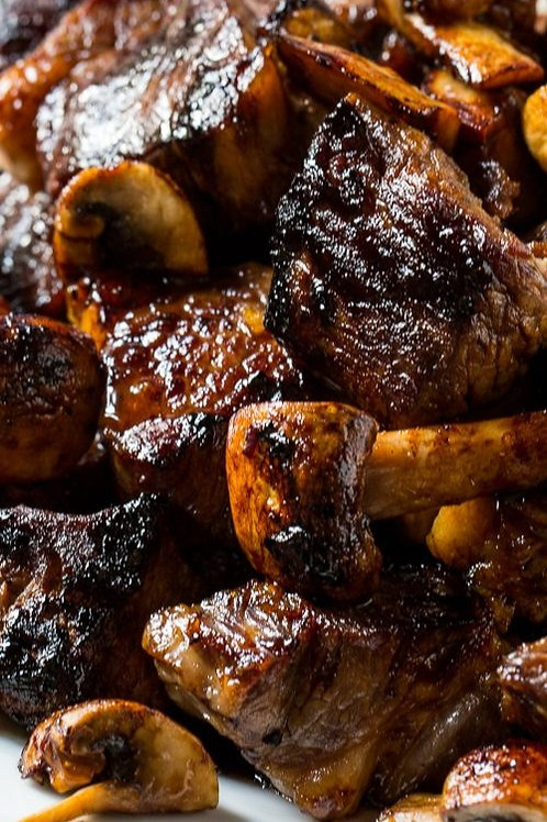 Korean BBQ Beef Tips