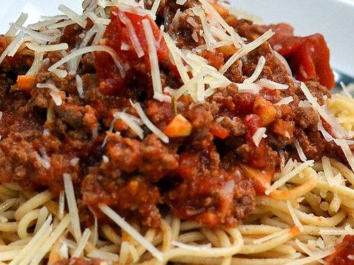 Spaghetti Turkey Bolognese