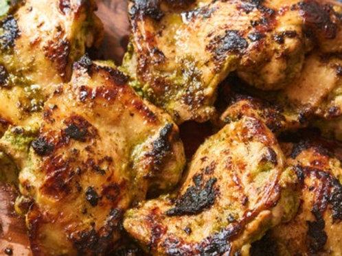 Herb Garlic Chicken Thighs