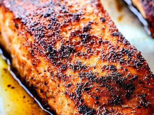Fire Roasted Salmon