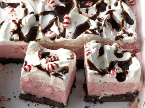 Oreo Peppermint Crumble