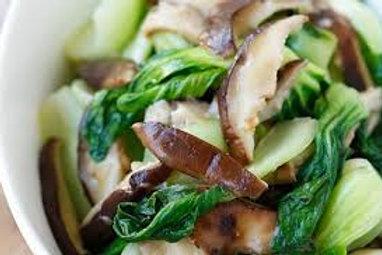 Mushroom Bok Choy
