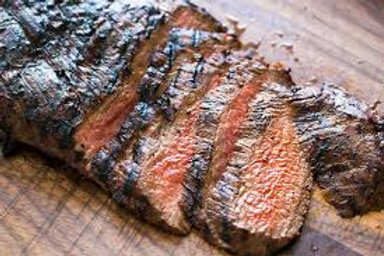 Flame Grilled Mojo Flank Steak
