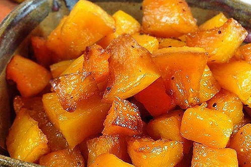 Maple Glazed Winter Squash