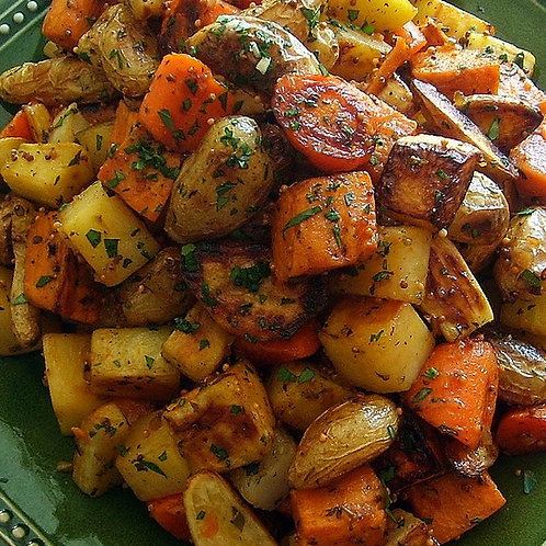 Root Vegetable Hash