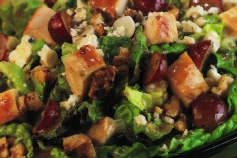 Smoked Chicken Spinach Salad