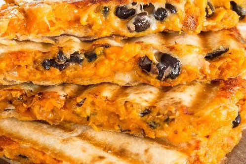 Sweet Potato and Black Bean Quesadilla
