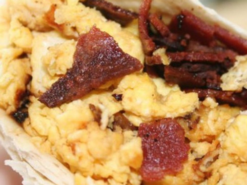 Bacon Breakfast Burrito