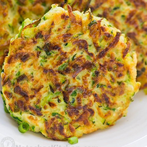 Zucchini Fritters **Revised Recipe**