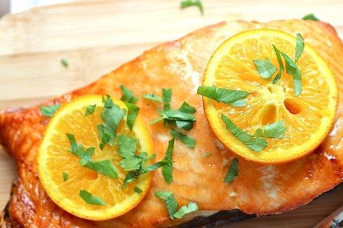 Orange Paprika Salmon