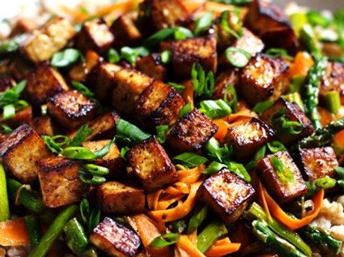 Citrus Ponzu Tofu Stir Fry