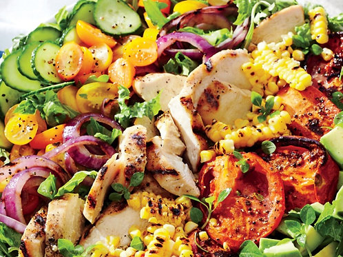 Grilled Chicken and Summer Veggie Salad