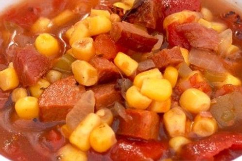 Cajun Corn and Sausage Stew