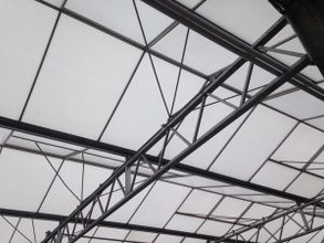 ROOF RE-GLAZING WORKS AT COLOUR GRO NURSERIES