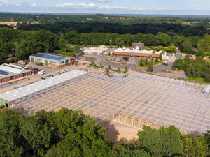 EBTECH BUILD TURNKEY GLASSHOUSE WITH GSHP